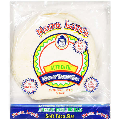 Mama Lupe's: Soft Taco Size Flour Tortillas, 36 Oz