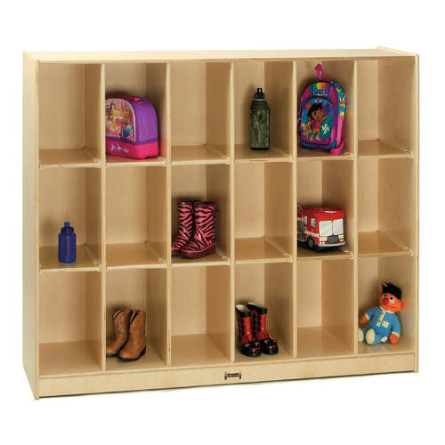 Jonti-Craft 18 Cubbie Locker Storage