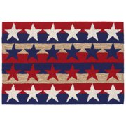 Liora Manne Frontporch 1804/14 Stars & Stripes Americ Area Rug 30 Inches X 48 Inches