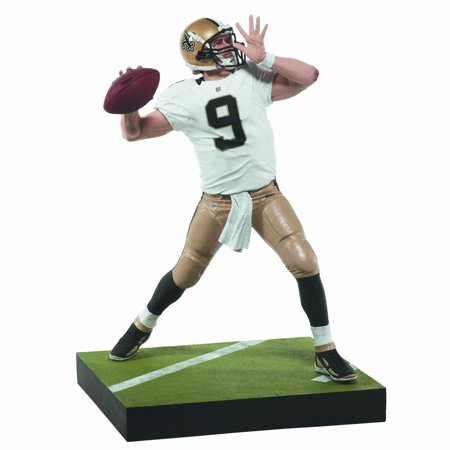 Toys Nfl Series 31  Drew Brees Action Figure  New Orleans Saints Qb Drew Brees Is Back With An All New Sculpt By Mcfarlane