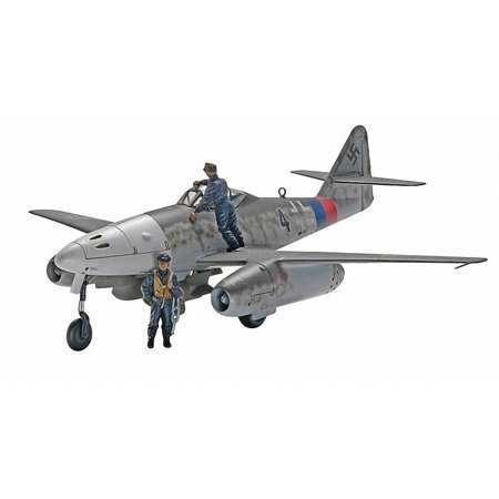 Messerschmitt Me 262 A-1a Plastic Model Kit, Molded in light gray and clear. By Revell (Me262 Model)