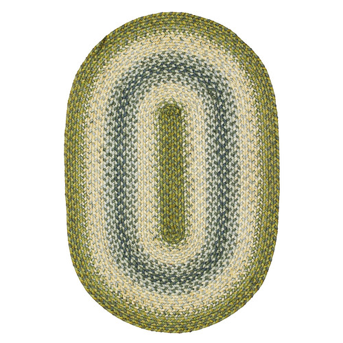 Homespice Decor Cora Ivory/Green Stair Tread
