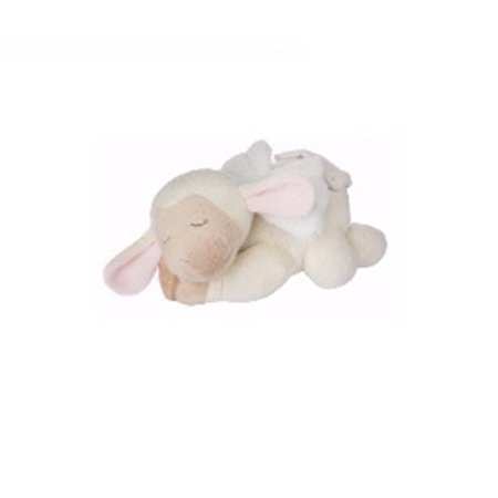 Sleepy Angel Lamb 9 Inch Plush Animal Plays Jesus Loves Me