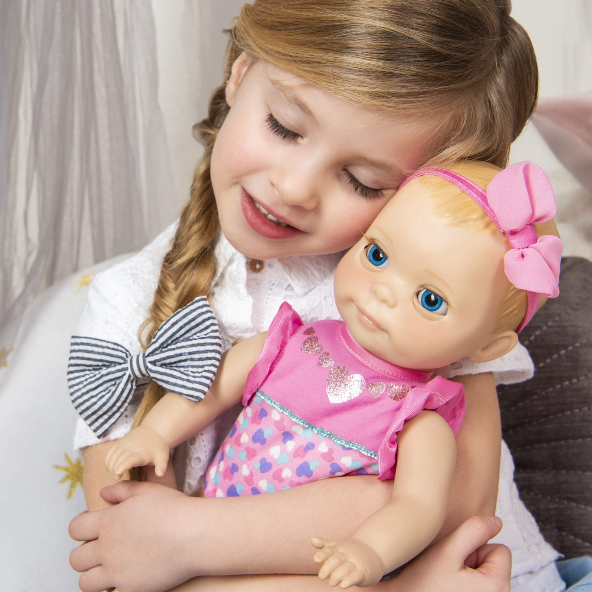 Brand New Luvabella Newborn Interactive Baby Doll Blonde Hair