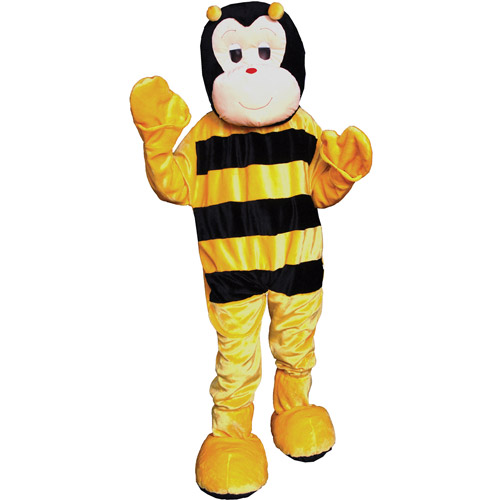 Bumble Bee Mascot Adult Halloween Costume, Size: Men's - One Size