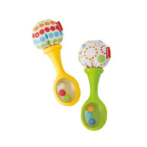 Fisher Price Shake 'N' Rattle Maracas by Fisher-Price