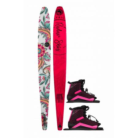 Radar Lyric Water Ski w/ Double Lyric Boots 2019 (Double Ski Boot Bag)