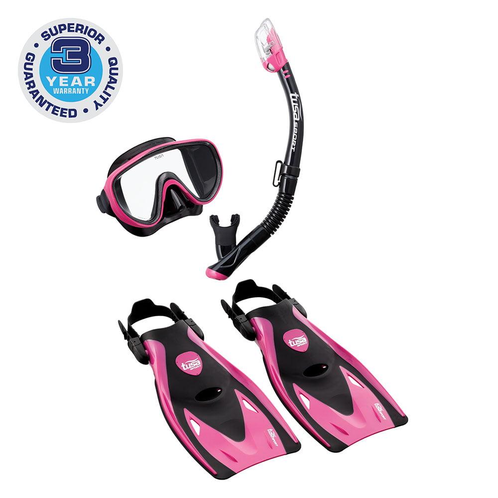 TUSA Sport Adult Serene Mask Series Travel Swimming Set