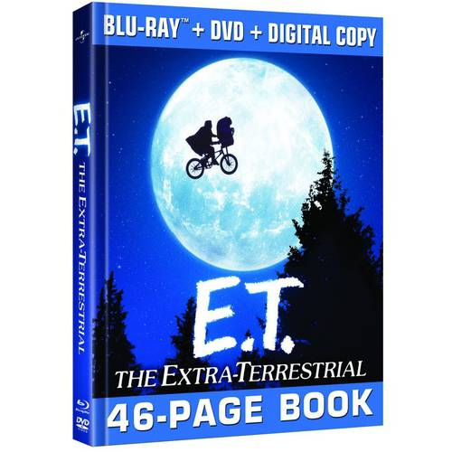 E.T. The Extra-Terrestrial (Blu-ray + DVD + Digital Copy) (Universal 100th Anniversary Collector's Series) (With INSTAWATCH)