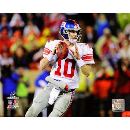 Eli Manning NFC Championship Game Action Photo Print