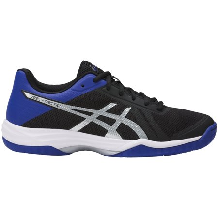 c38eeacfcda98 ASICS Women's Gel-Tactic 2 Volleyball Shoes (Black/Blue/Silver, 6.0) -  Walmart.com