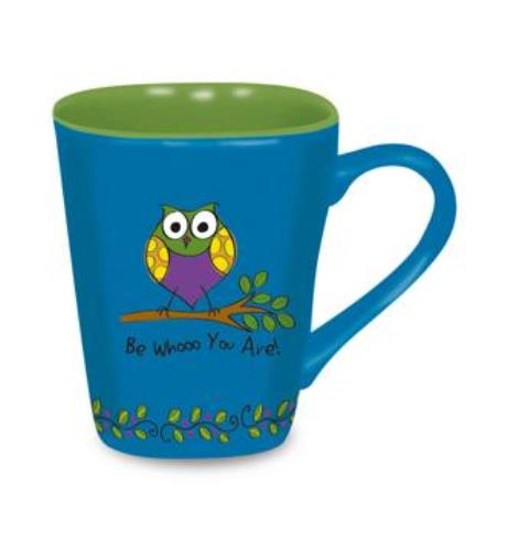 Whimsical Cute Be Whooo You Are Owl Coffee Latte Tea Love Mug