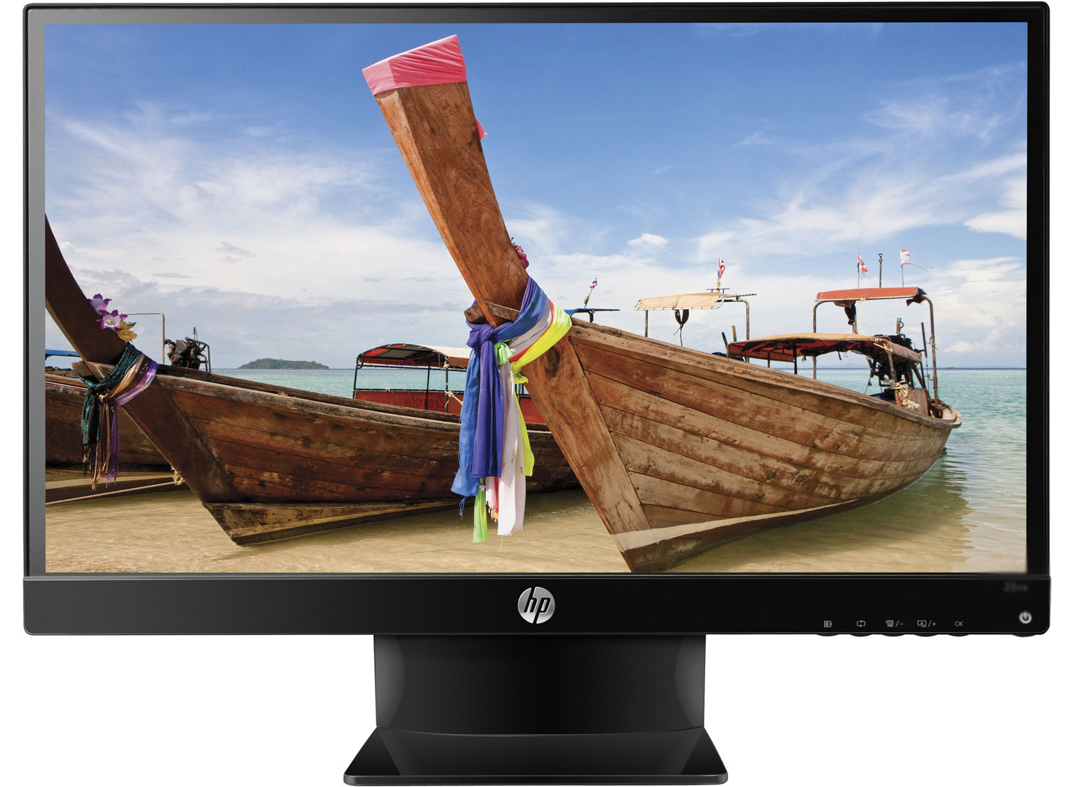 Refurbished - HP Pavilion 25vx 25 IPS LED Backlit Monitor 1920x1080 Full HD VGA DVI HDMI 7ms