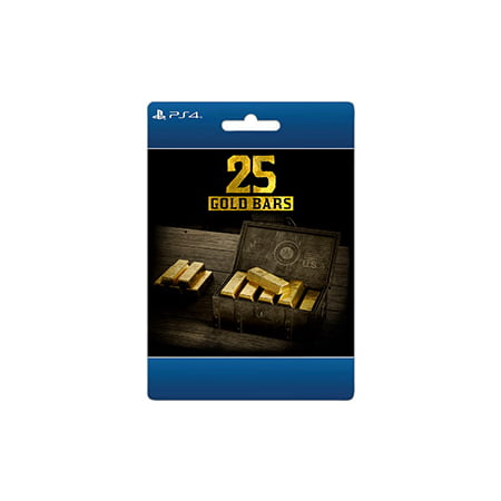 Red Dead Online: 25 Gold Bars, Rockstar Games, Playstation, [Digital Download]](Halloween Horror Games Online)