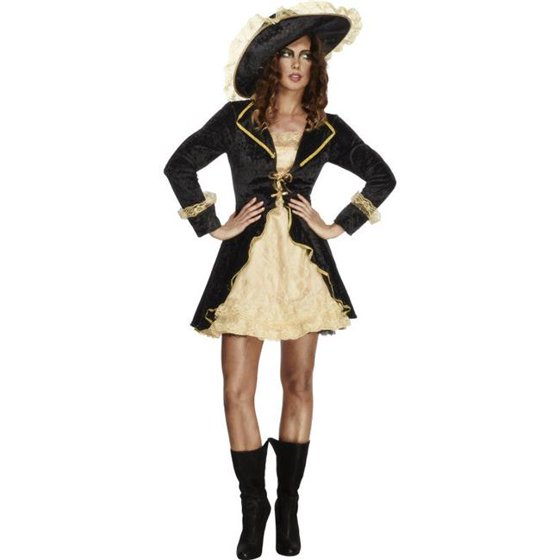 9cbc3cec Smiffys Sexy Pirate Captain Outfit Adult Halloween Costume