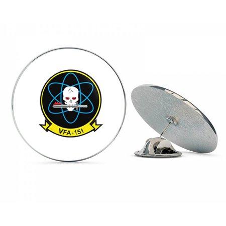US Navy VFA-151 'Vigilantes' Patch  Military Veteran USA Pride Served Gift Metal 0.75