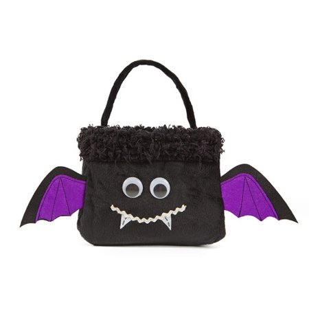 Xia Home Fashions Bat Halloween Treat Bag