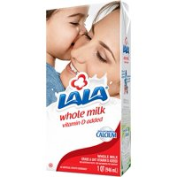 """(2 Pack) LALA Ultra-Pasteurized Whole Milk, 32 fl oz"""