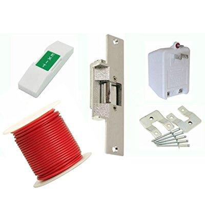 Lee 14 Dlc Commercial Electric Strike Door Lock Kit For Wood Doors Set Includes All Standard Buzz