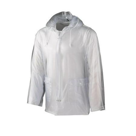 Augusta Sportswear Outerwear Youth Clear Rain (Clear Nylon Coat)