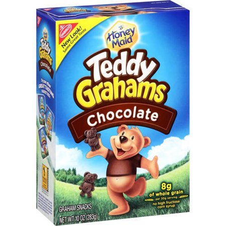 (3 Pack) Nabisco, Teddy Grahams Snacks Chocolate