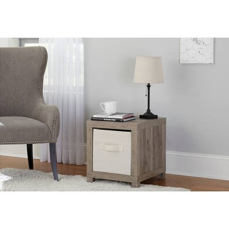 Better Homes and Gardens Accent Table, Rustic Gray