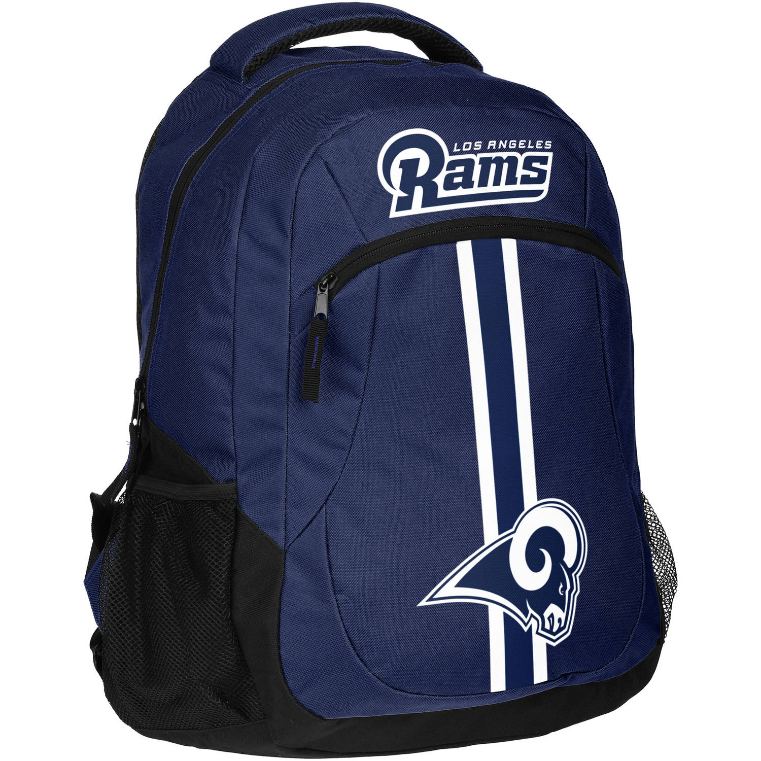 Forever Collectibles NFL Los Angeles Rams Action Stripe Logo Backpack