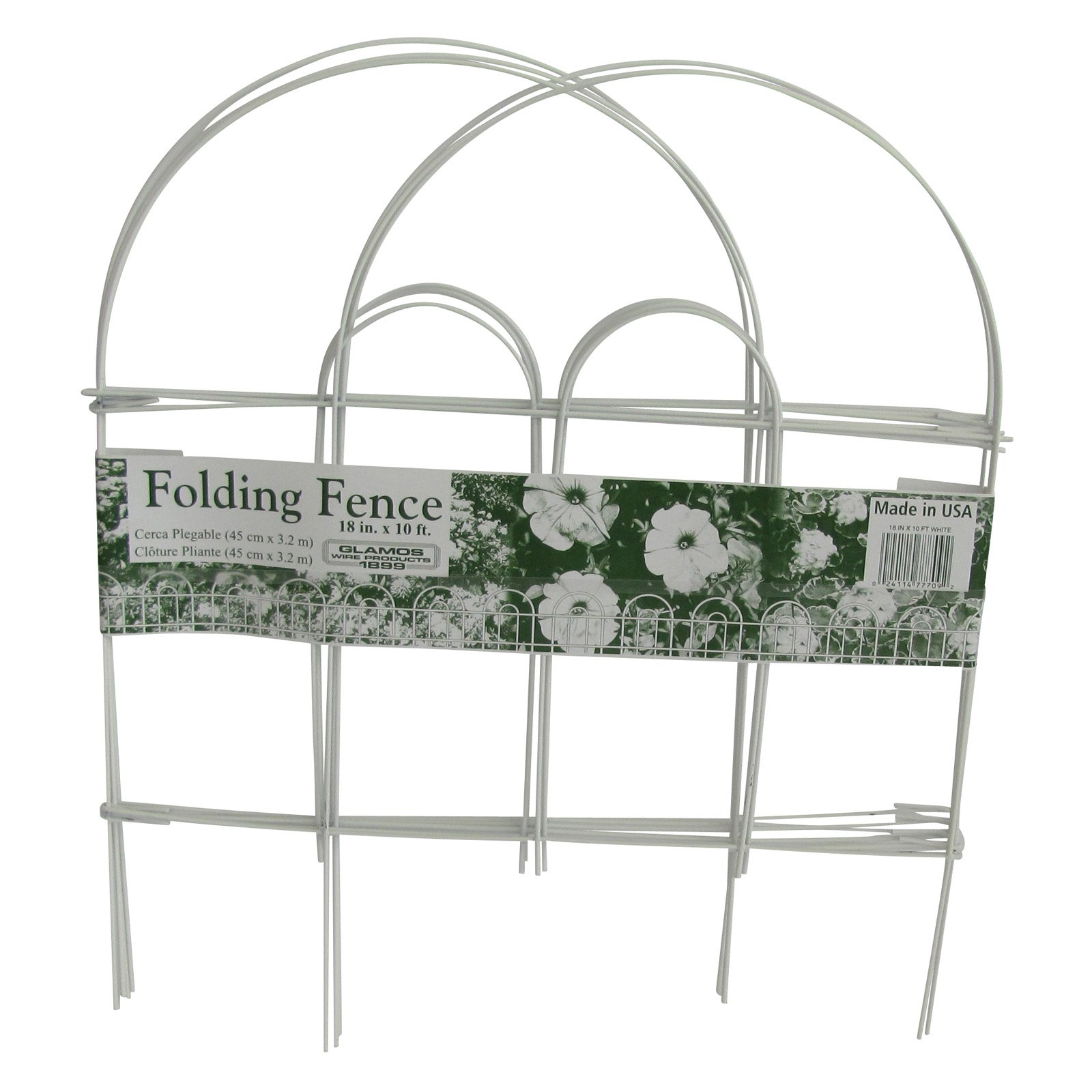 Glamos Wire 18 x 10 Garden Fence 12 Pack by Glamos Wire Products
