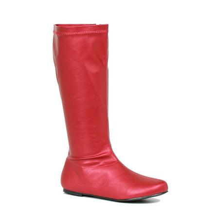 Superhero Shoes For Adults (Womens Avenge Red Superhero Costume)
