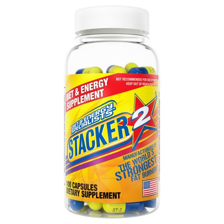 Stacker 2 Ephedra Free | Worlds Strongest Fat Burner- Burn Body Fat, Boost Energy &