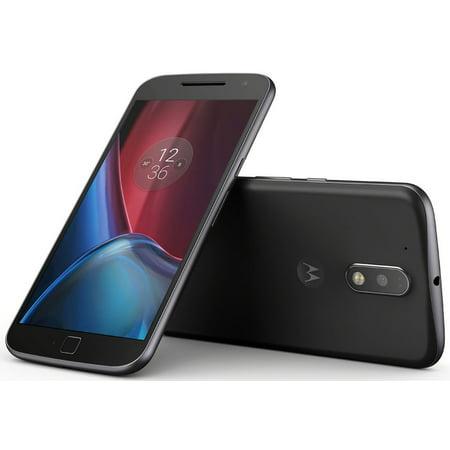 Motorola Moto G4 Plus XT1641 Unlocked GSM 4G LTE Phone - Black (Certified