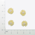Expo Int'l Mini Daisy Applique Pack of 4