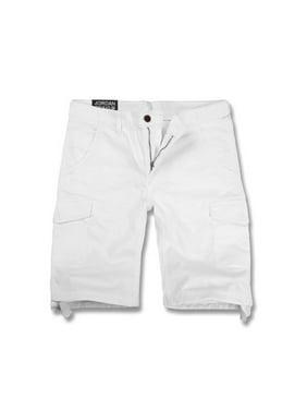 680a6aad Product Image Jordan Craig Basic Cargo Shorts White