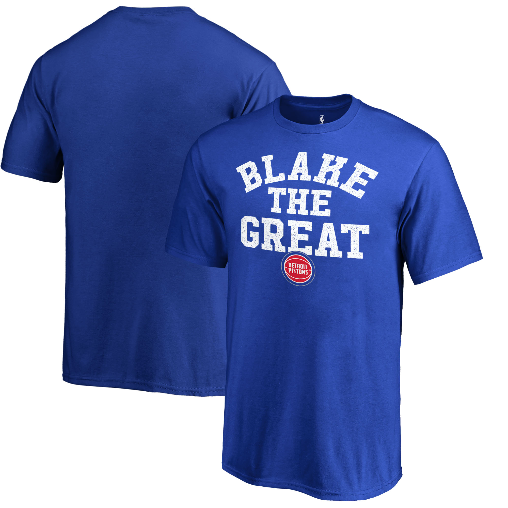 Blake Griffin Detroit Pistons Fanatics Branded Youth Hometown Collection Blake The Great T-Shirt - Royal