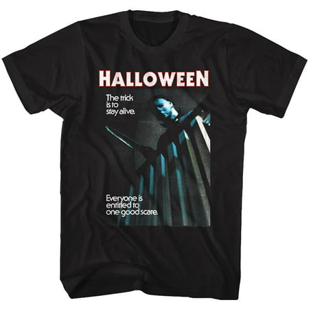 Halloween Scary Horror Slasher Movie Film 78 Stay Alive Trick Adult TShirt Tee - Best Scary Films For Halloween