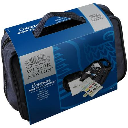 Travel Watercolor - Winsor & Newton Cotman Watercolor - Travel Bag Set
