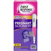 First Response Ovulation Daily Digital Ovulation Test 20 ct Box