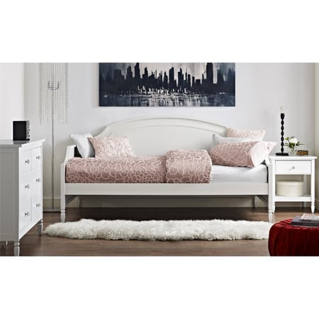 Dorel Living Vivienne Twin Daybed in White