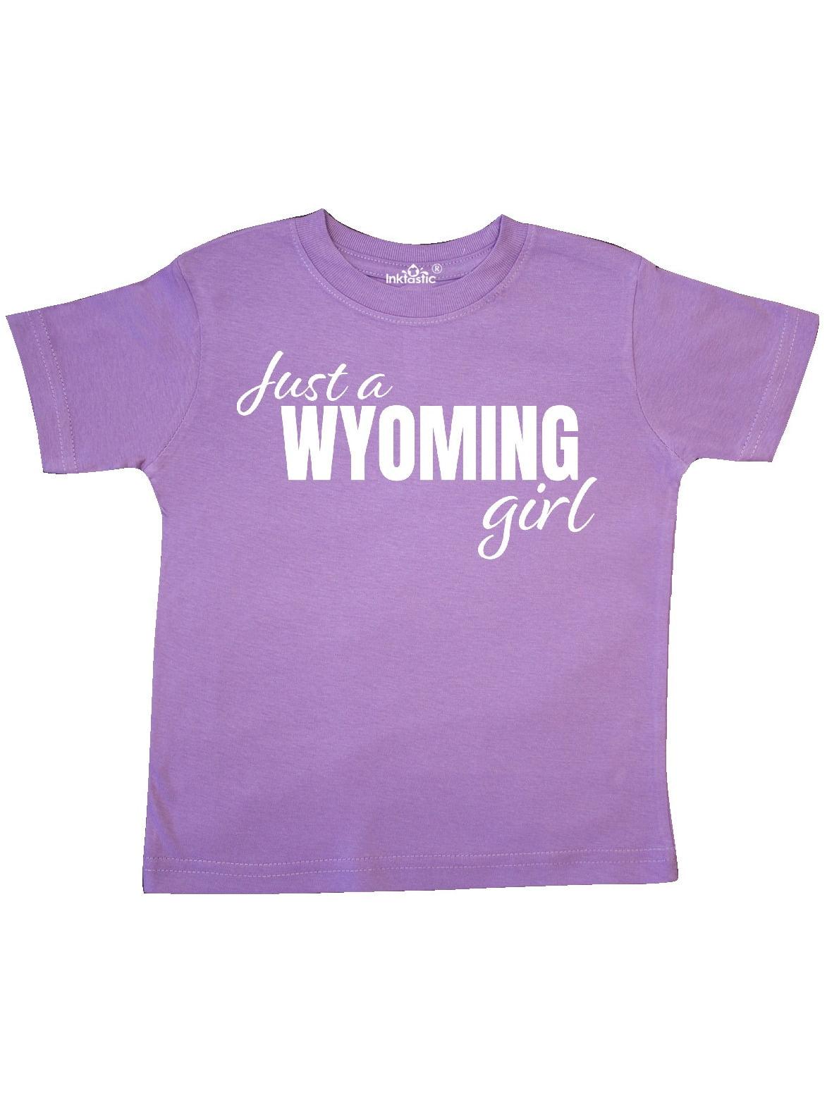inktastic Just an Arizona Girl Born and Raised Toddler T-Shirt
