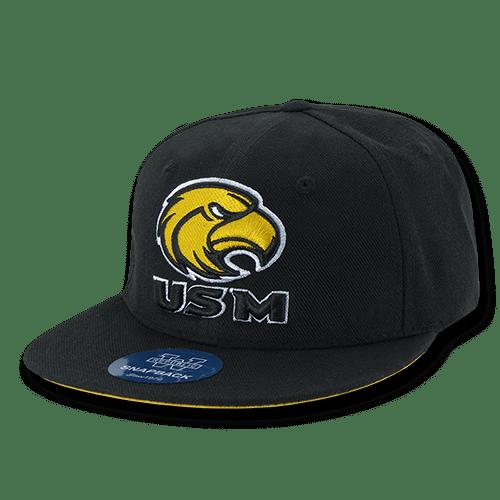 281bf68a5fe05 ... coupon ncaa u of southern mississippi golden eagles snapback baseball  caps hats walmart 0644b 39360