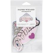 Paper Wizard Die-cut-princess Title*