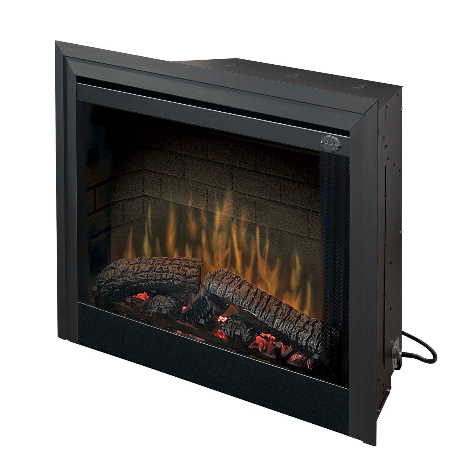 dimplex 39 in standard built in electric fireplace insert walmart com rh walmart com replacement electric fireplace insert ndf 68n replacing electric fireplace insert