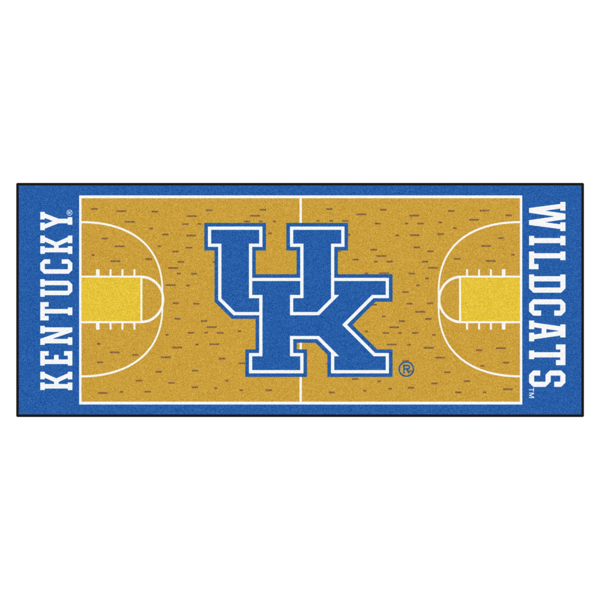 """Kentucky Basketball Court Runner 30""""x72"""""""