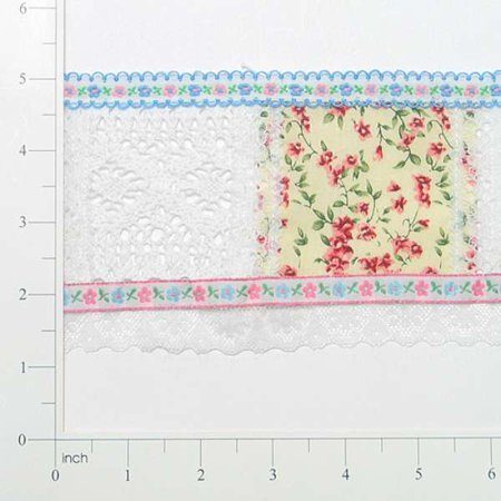 Expo Int'l Eyelet Patchwork Trim by the yard