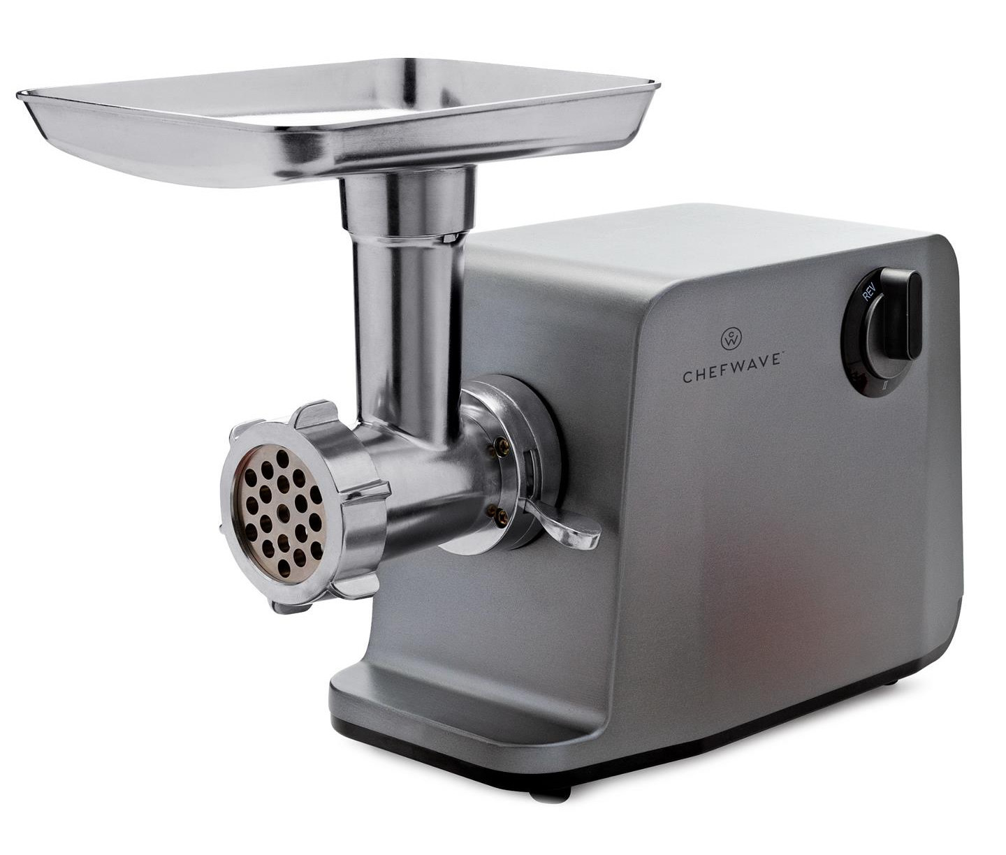 ChefWave Minca Electric Meat Grinder with Vegetable Slicer