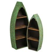 Evergreen Enterprises Metal and Wood Boat Shelf