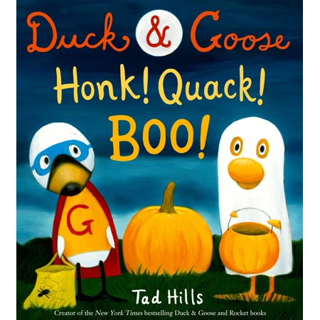 Duck & Goose, Honk! Quack! Boo! (Hardcover)](Boo To You Halloween Parade)