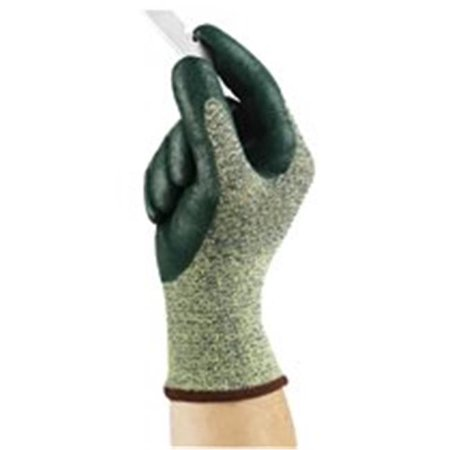 Ansell 012-11-511-10 Hyflex Medium Cut Protection Gloves, Size 10, Green