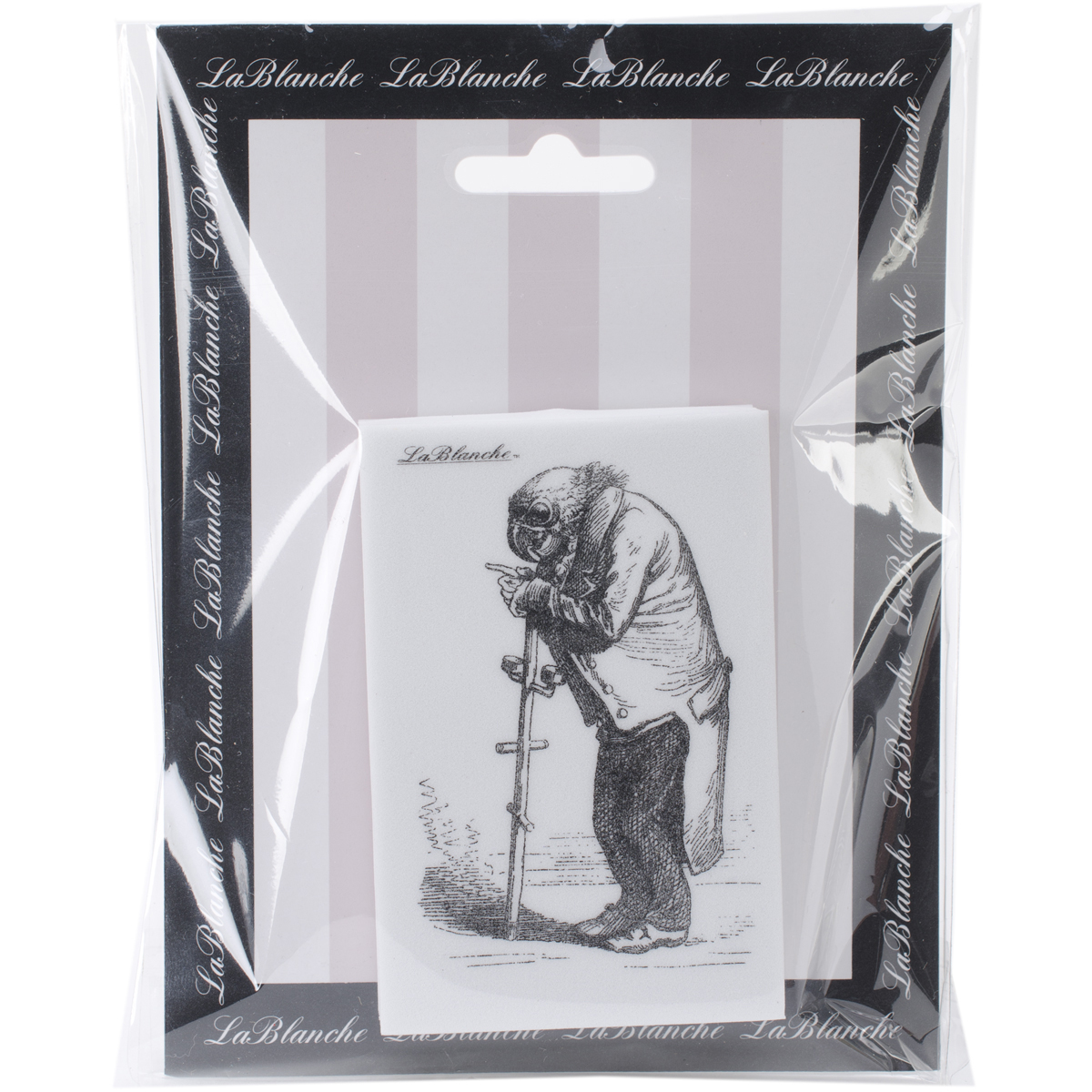 "LaBlanche Silicone Stamp 2""X3.5""-Wise Parrot"