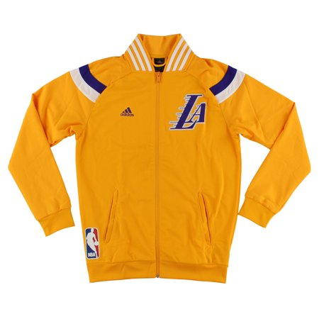 9d852477529 adidas - Adidas Mens Lakers Warm-Up Jacket Royal Purple - Walmart.com